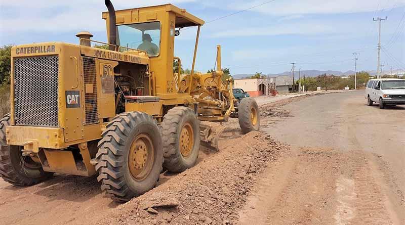 Rehabilitará Gobierno del Estado caminos rurales