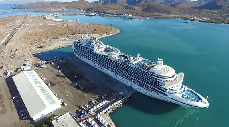 Aumenta arribo de cruceristas a BCS