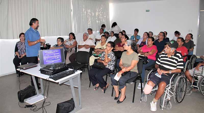 Imparte DIF pláticas para prevenir la discapacidad en  enfermedades crónico degenerativas