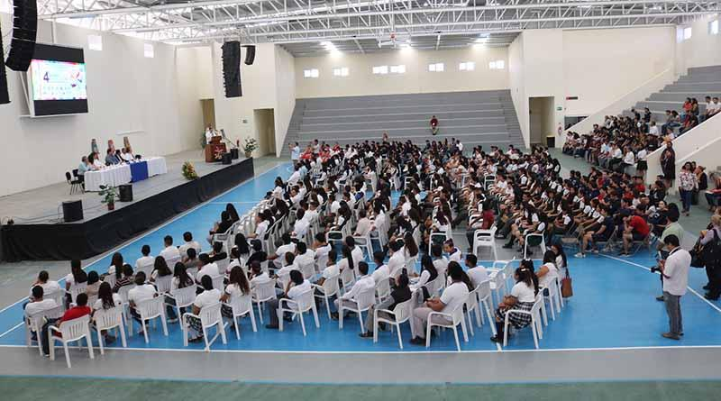Participan 500 estudiantes de bachillerato en el IV Encuentro de arte y cultura