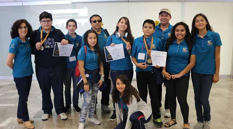 Alumnos sudcalifornianos lograron tres medallas de bronce en Olimpiada Nacional de Matemáticas