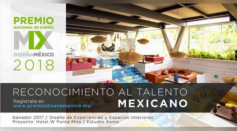 Convoca Secretaría de Turismo a Premio Nacional diseña México 2018