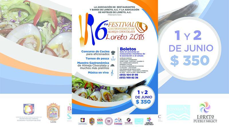 Todo listo para El Festival de la Almeja Chocolata en Loreto