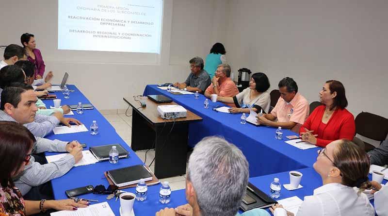 Valida subcomité de reactivación económica y desarrollo empresarial resultados del sector