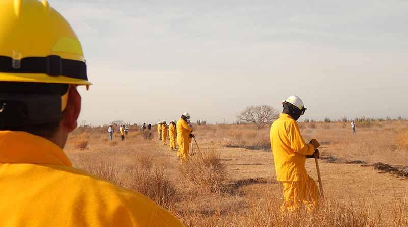 Redobla SETUES acciones de prevención ante temporada de incendios forestales