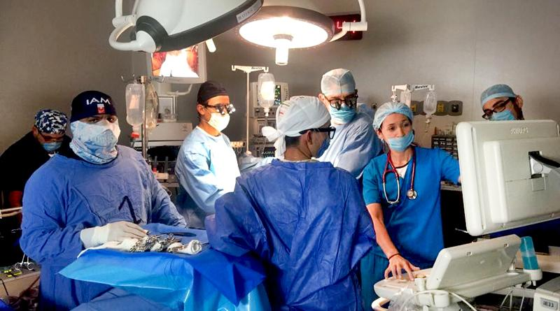 Obtiene resultados exitosos La XI Jornadas de Cirugías de Corazón a niños