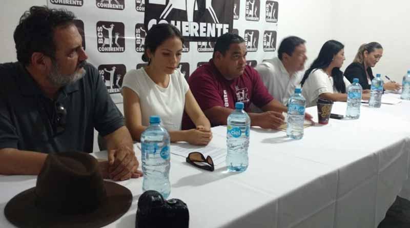 Frente Ciudadano en Defensa del Agua y la Vida inicia firma de Carta Compromiso con candidatos a elección popular