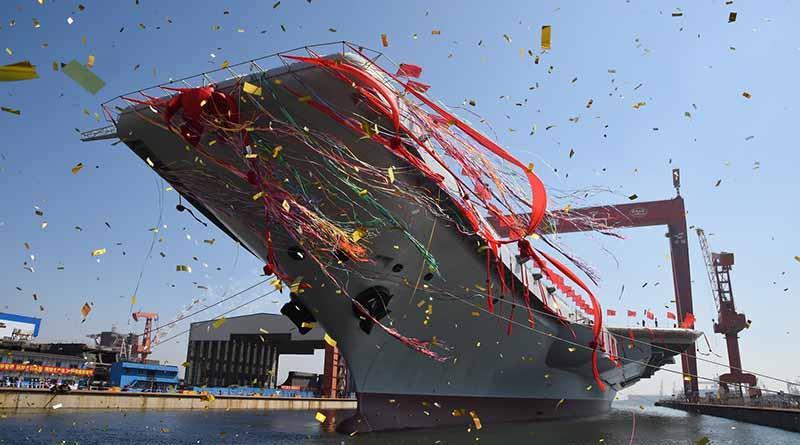 Zarpa primer portaaviones fabricado por China