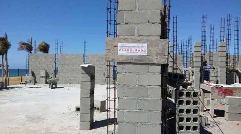 Clausura Profepa construcción de residencia en ecosistema costero de Los Cabos