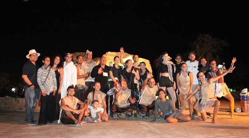 Colmena Cultural en su primera producción escénica hace retumbar el Cerrito del Timbre