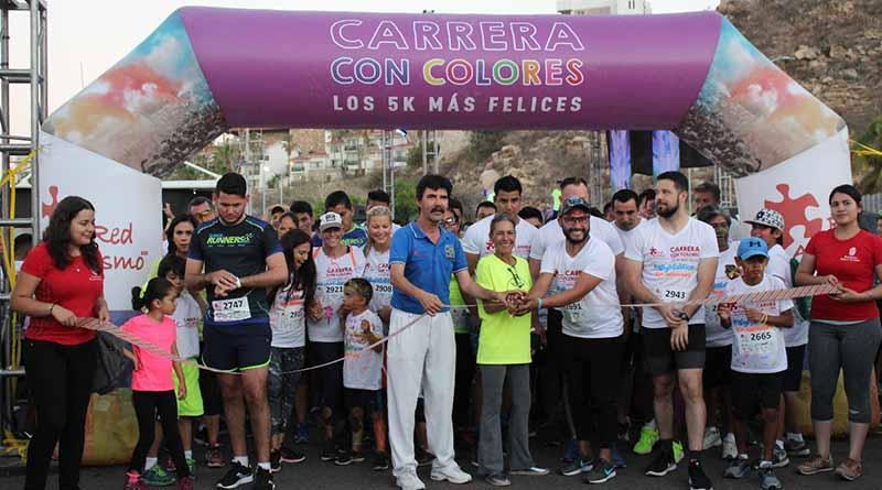 Cientos de participantes se unieron a la 1era Carrera con Colores en CSL