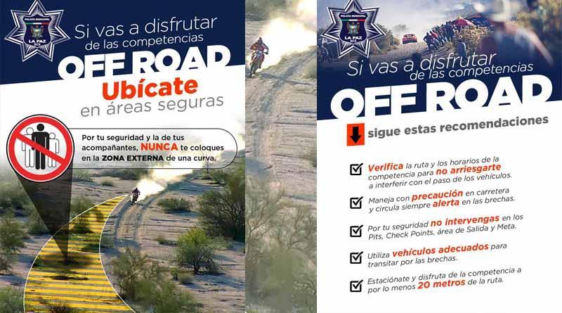 Alistan operativo para carrera de Off-Road Dos Mares 500