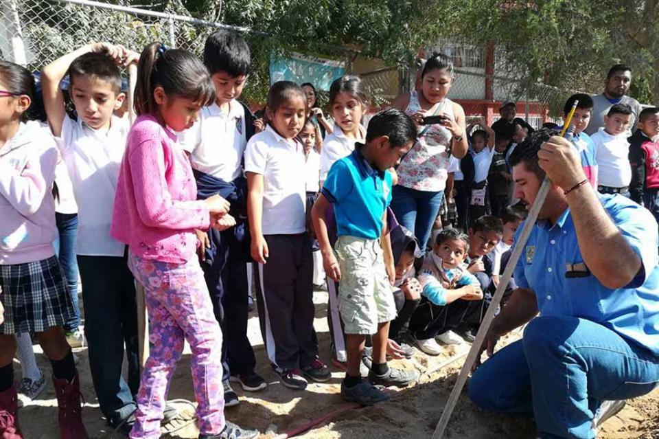 """Avanzan trabajos para certificación de """"Escuelas Verdes"""" en el municipio"""