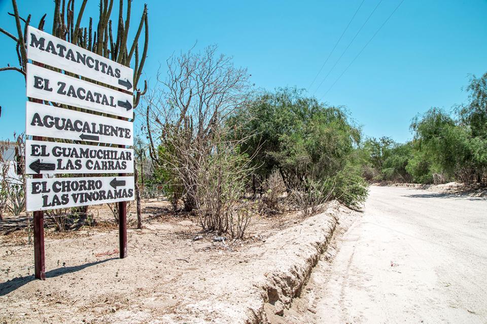 Instala delegación de Santiago, señalética para ubicar sitios de interés y turísticos