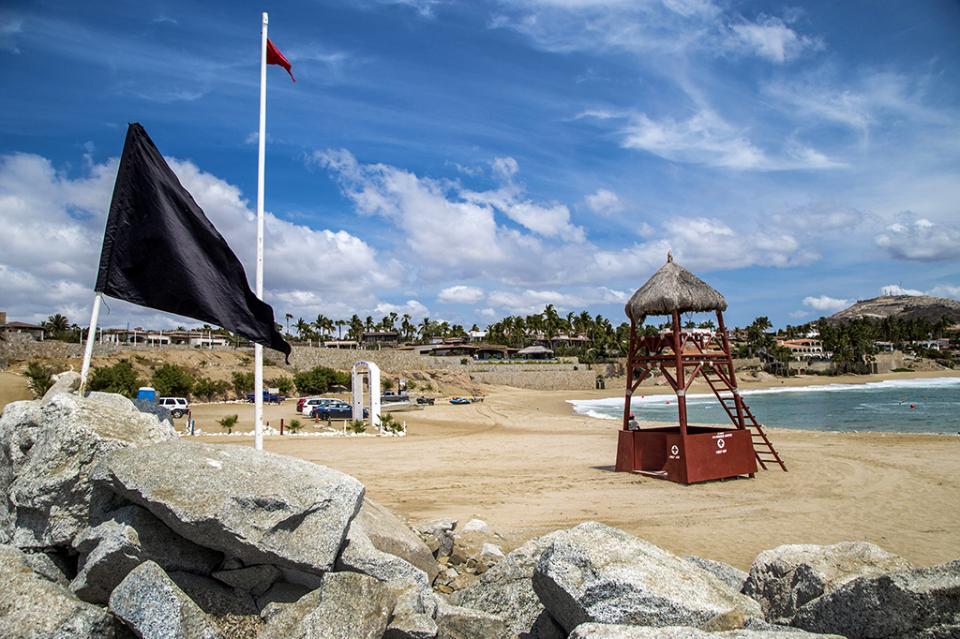 Realiza ZOFEMAT acciones de prevención en playas ante fenómenos meteorológicos