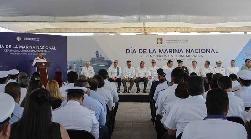 Celebran 101 años del Día de la Marina Nacional