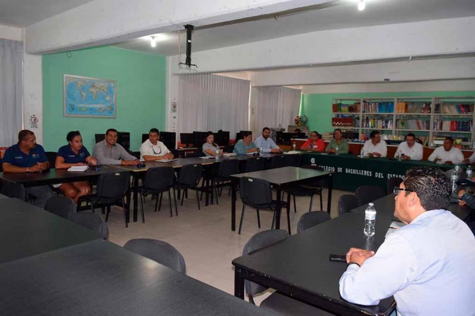 """Realizan reunión de """"Prevención del delito y cultura"""" en CSL"""