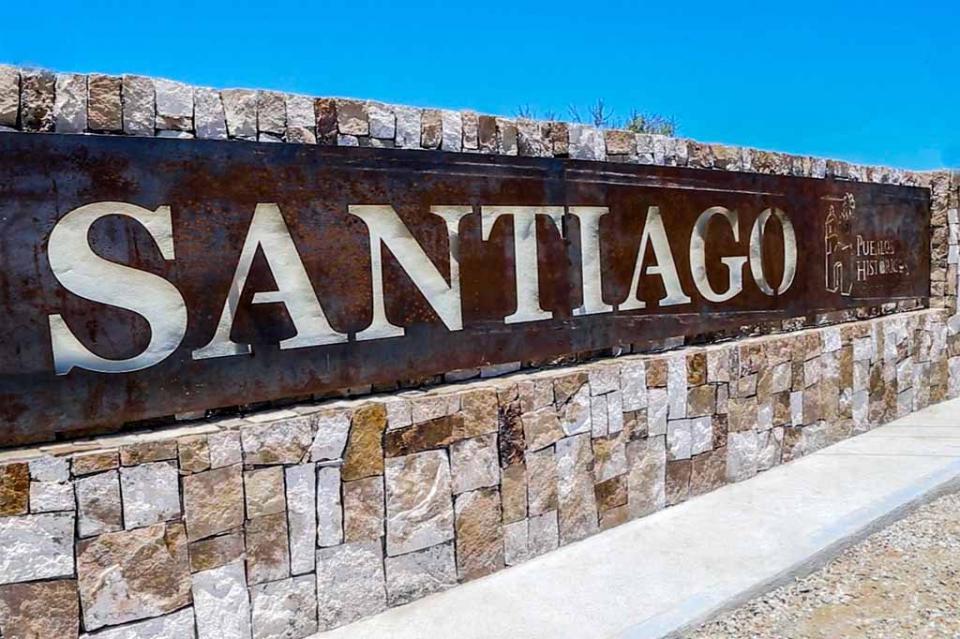Santiago, pueblo histórico legado de la XII Administración