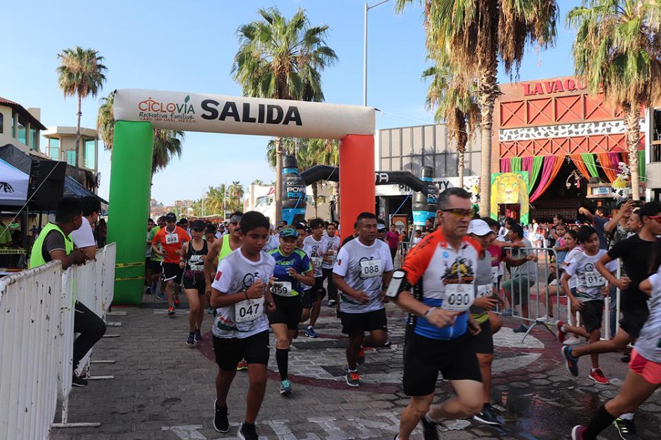 Celebra su 8vo. Aniversario Ciclovía Recreativa Familiar Cabo San Lucas