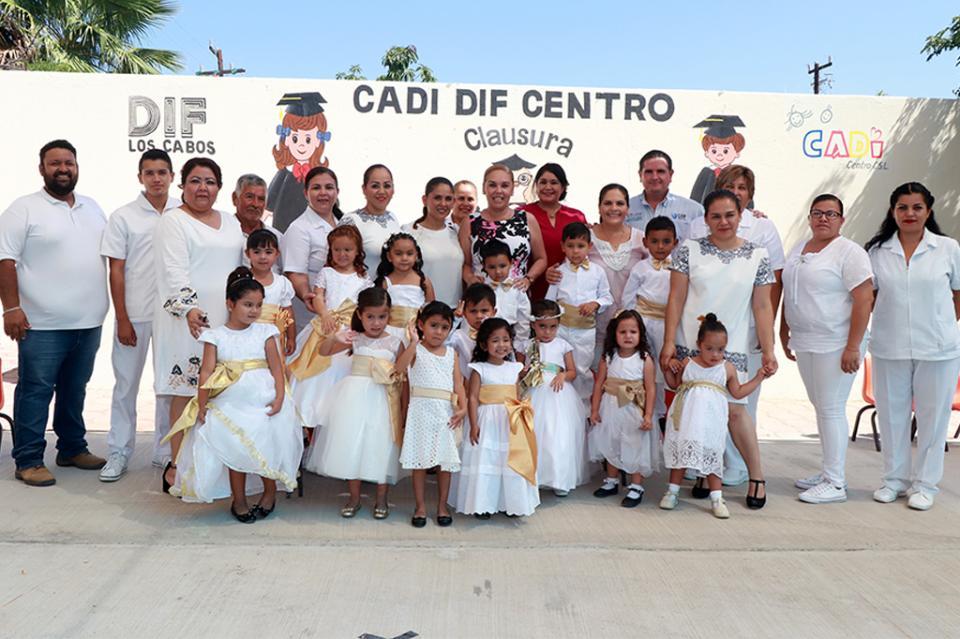 Clausuran ciclo 2017-2018 en CADI Cabo San Lucas