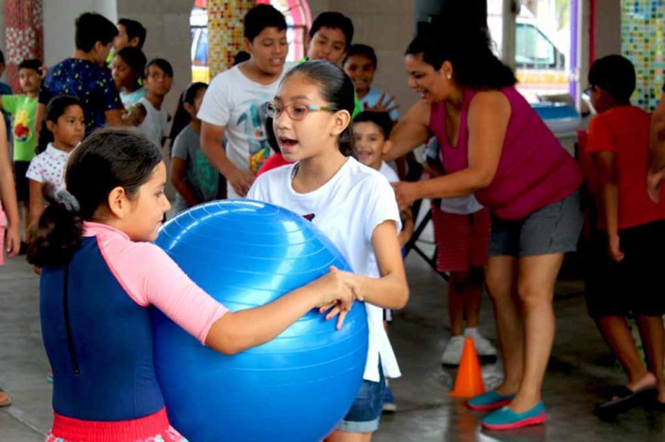 Salud promueve la activación física entre hijos de trabajadores