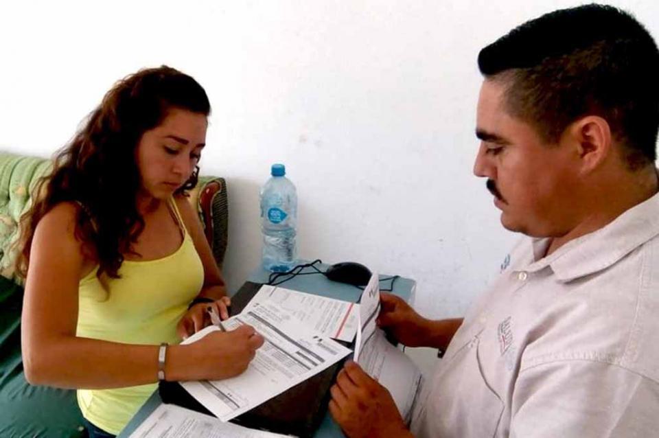 Salud desarrollado afiliaciones al Seguro Popular en Puerto San Carlos