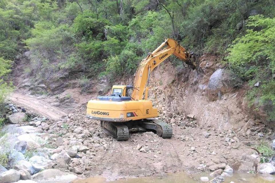 Mejora JEC Caminos Rurales en Los Cabos