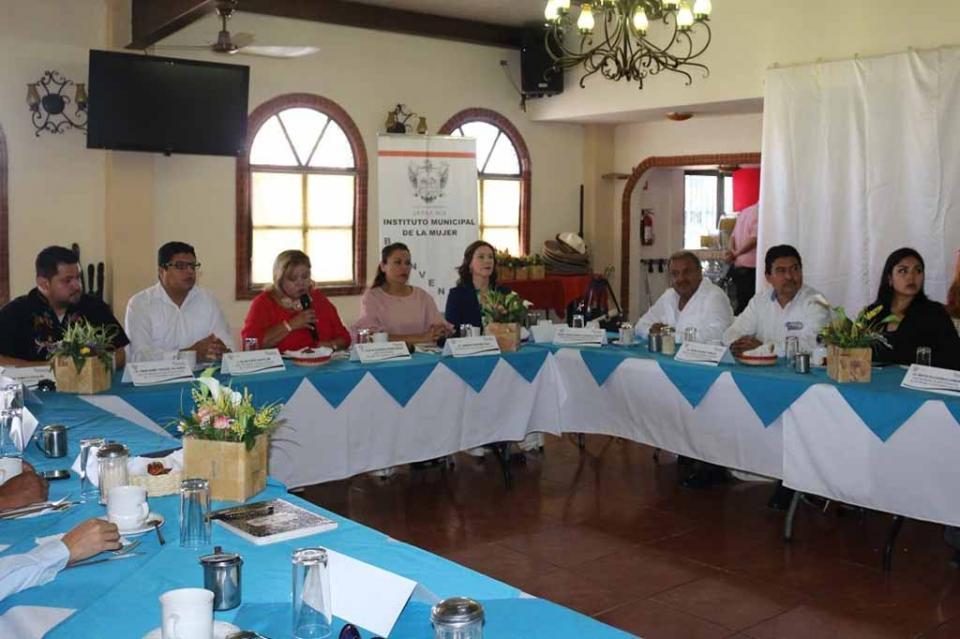 El IMMUJER llevo a cabo la última Sesión Consejo Municipal de la Mujer