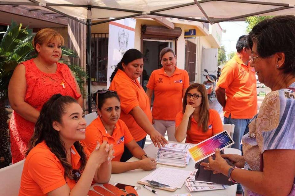 El IMMUJER conmemora el Día Naranja, mes de julio