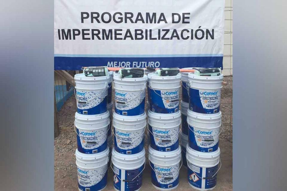 Se pone a disposición programa de impermeabilización