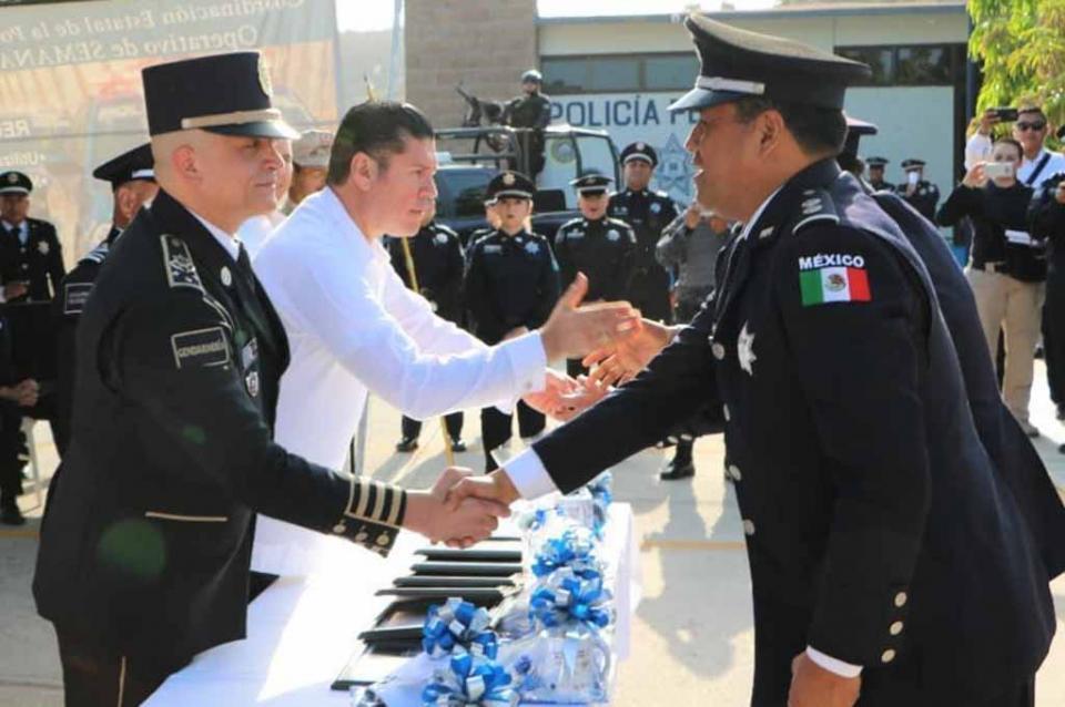 Reconoce BCS labor de Policía Federal: Álvaro de la Peña