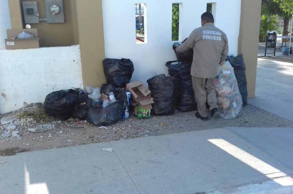Recalendarizan rutas de recolección de basura por temporada vacacional