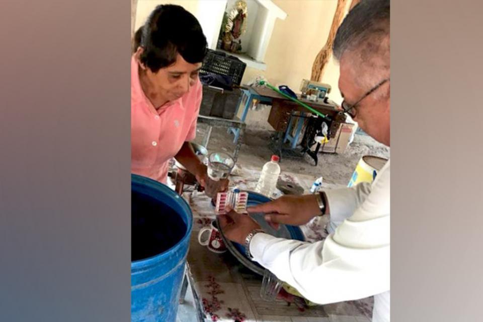 Se llevan labores de Fomento Sanitario en zona rural
