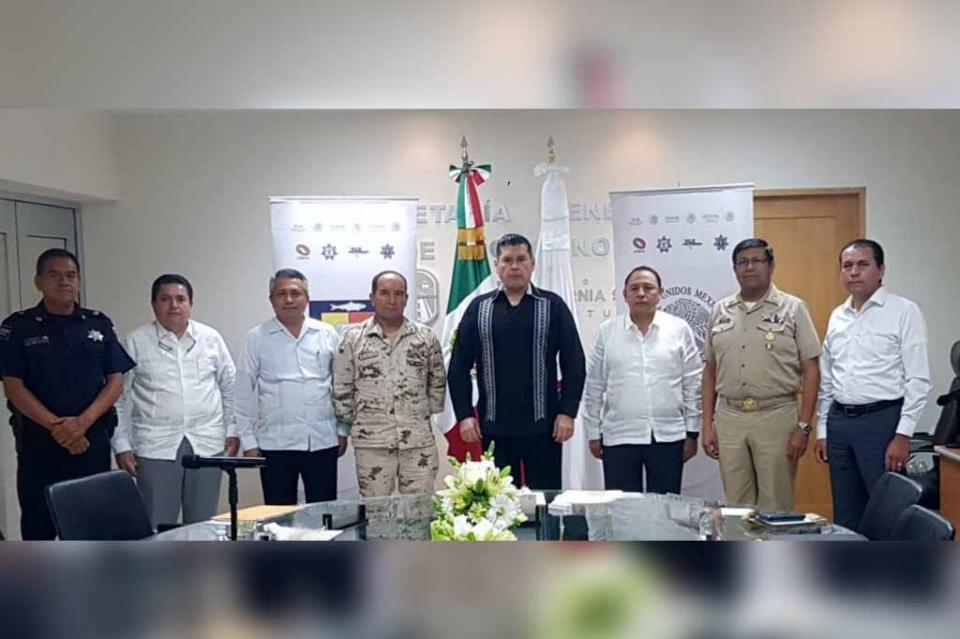 Se continúa fortaleciendo la coordinación interinstitucional: Álvaro de la Peña