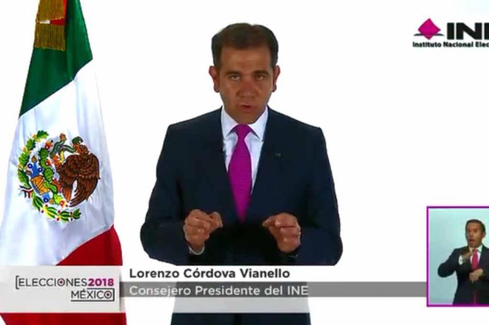 Conteo Rápido señala clara tendencia en favor de López Obrador