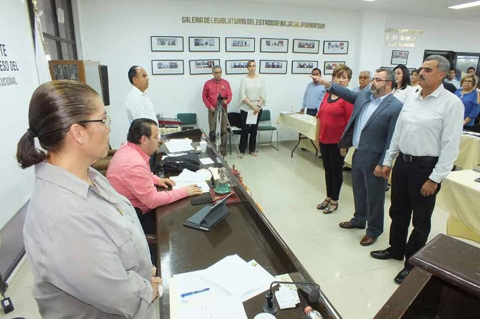 El Congreso del Estado elige a Ramiro Ulises Contreras como Magistrado del Tribunal de Justicia Administrativa