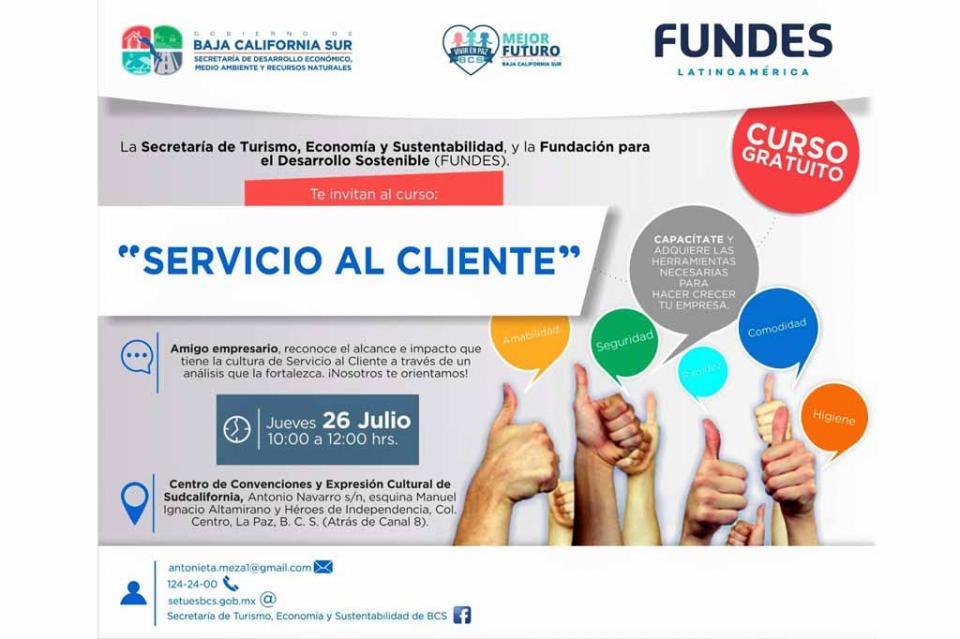 "Realiza SETUES curso ""Servicio al Cliente"""