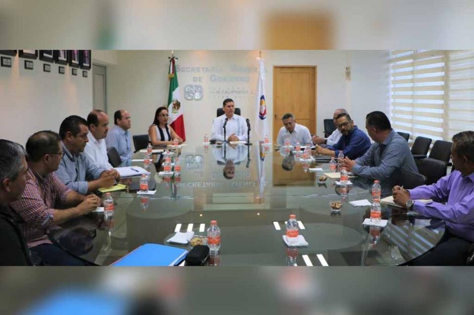 Sesiona Comité de COPLADEBCS para seguridad y justicia