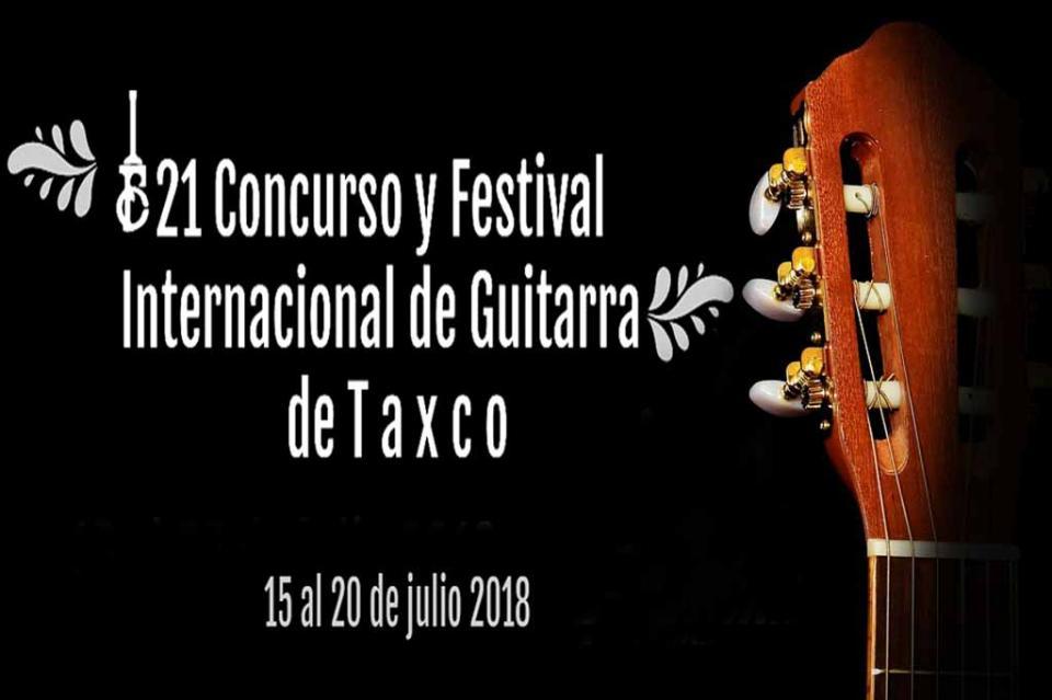 Arranca 21 Concurso y Festival Internacional de Guitarra en Taxco