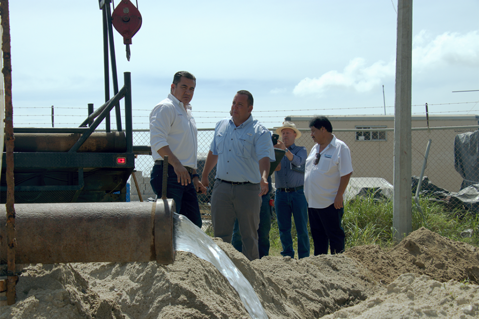 OOMSAPAS LC culmina mantenimiento del Pozo de La Ribera