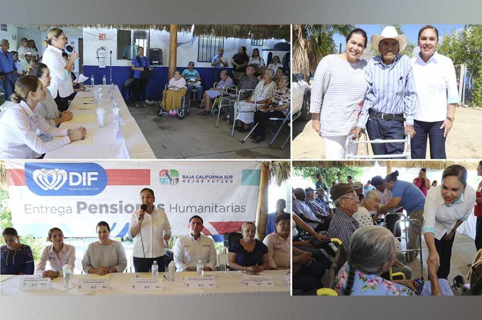 Beneficia SEDIF y DIF Los Cabos a adultos mayores y personas con discapacidad