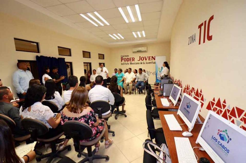 Los Cabos, 1er. Municipio a Nivel Nacional en contar con 5 Centros Poder Joven