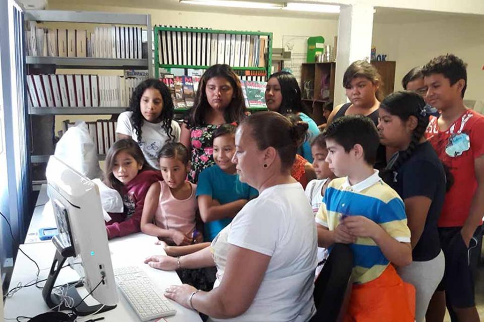 Se equiparon 3 Bibliotecas Públicas con módulos digitales en Los Cabos