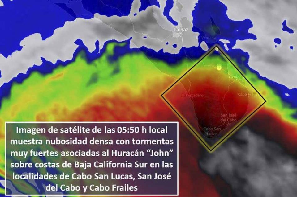 Aperturan refugios temporales en San José del Cabo Y Cabo San Lucas; suspenden clases en todos los niveles