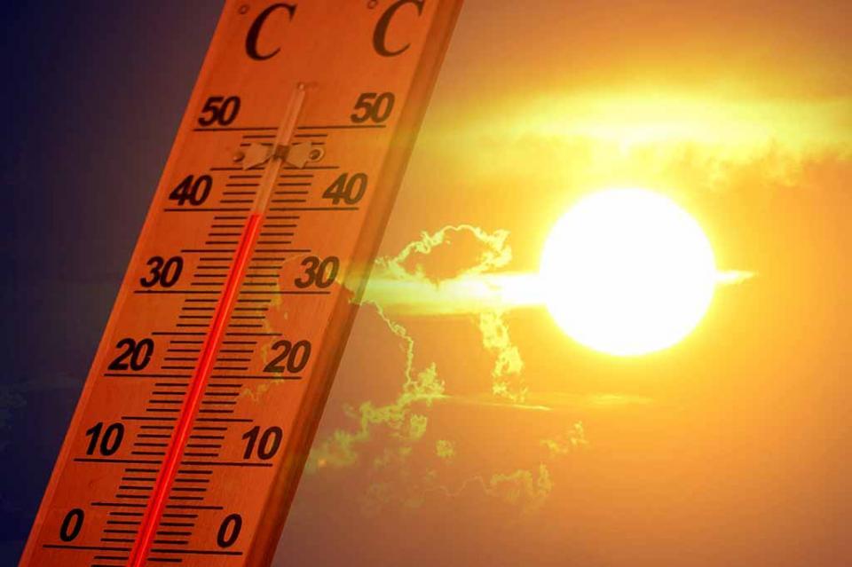 Ola de calor provoca temperaturas superiores a 40 grados en siete estados