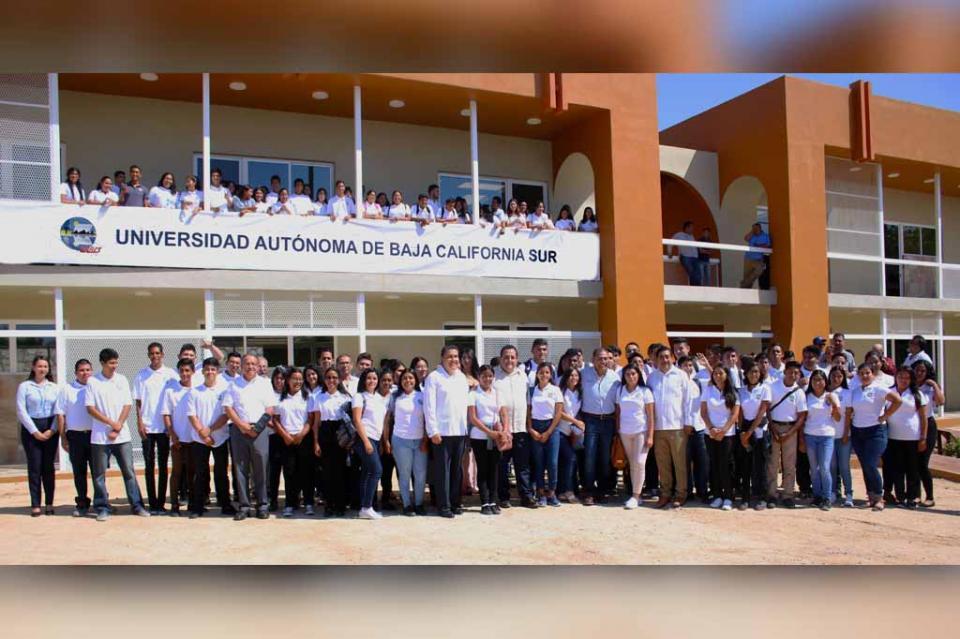 Inauguran edificio de primer nivel en UABCS Los Cabos