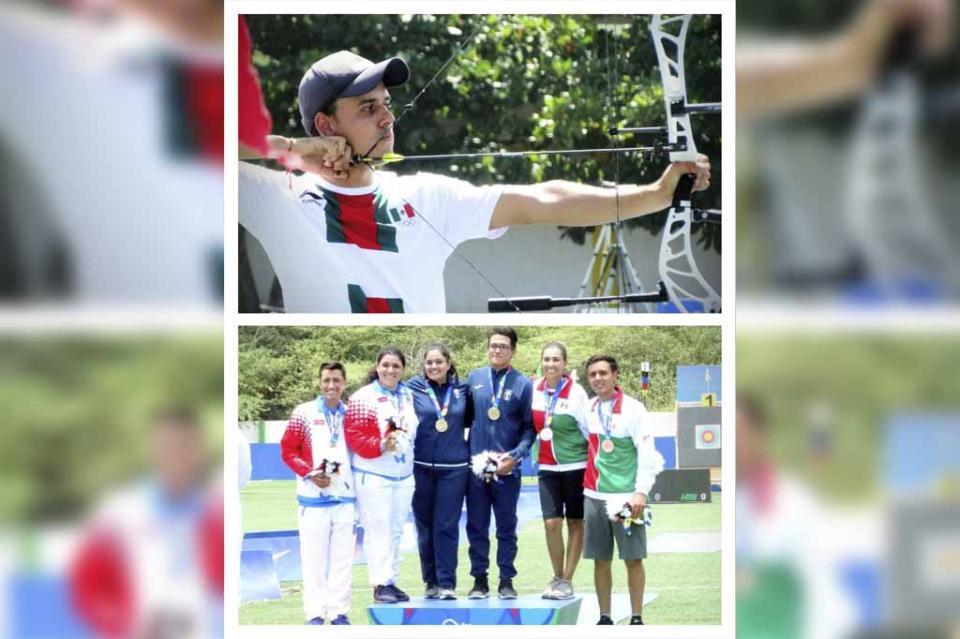 Consigue Antonio Hidalgo doble medalla de bronce