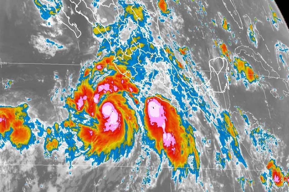 John se convierte en huracán categoría 1; alerta por tormentas en tres estados