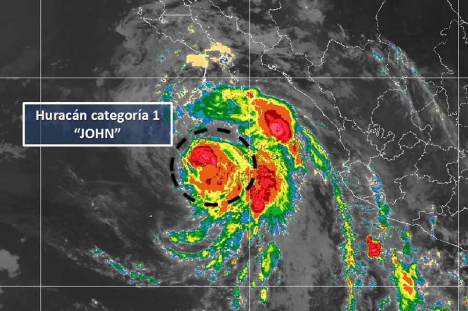 Por efectos de huracán John se suspenden actividades escolares para alumnos de media superior y superior en Los Cabos: SEP