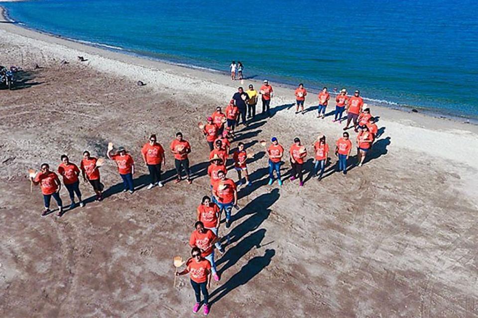 ISMUJERES se une a la campaña limpieza de playas